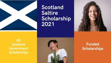 Scottish Government - Scotland's Saltire Scholarships UK 2021-2022