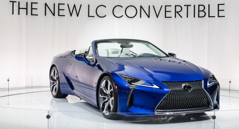 New 2021 Lexus LC 500 Convertible Concept