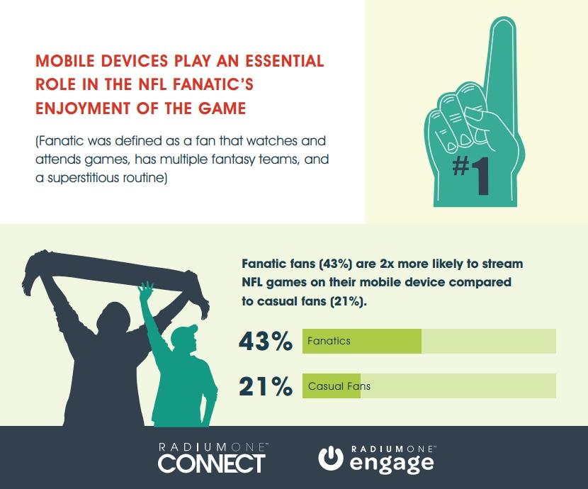 NFL Fanatics vs Casual Fans [INFOGRAPHIC]