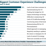 Chart: Customer Experience Challenges