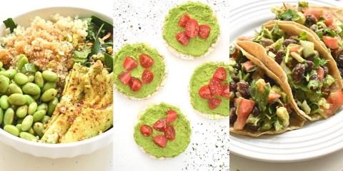 3 comidas veganas que son súper fáciles de preparar y llevan mogollón de proteínas