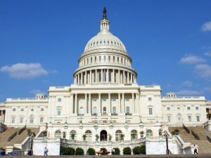 Image of the US Capitol building. Getty Image Copyright.