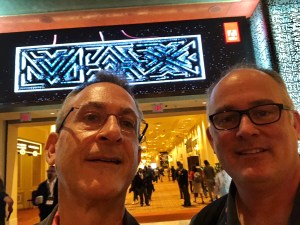 Tim Green and Abbie Brown at Adobe Max in Las Vegas