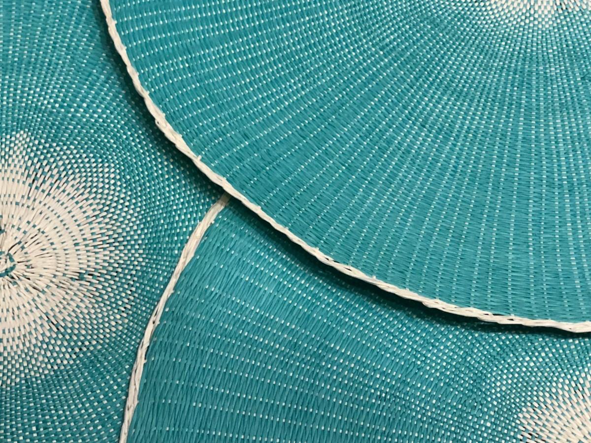 set de table truquoise