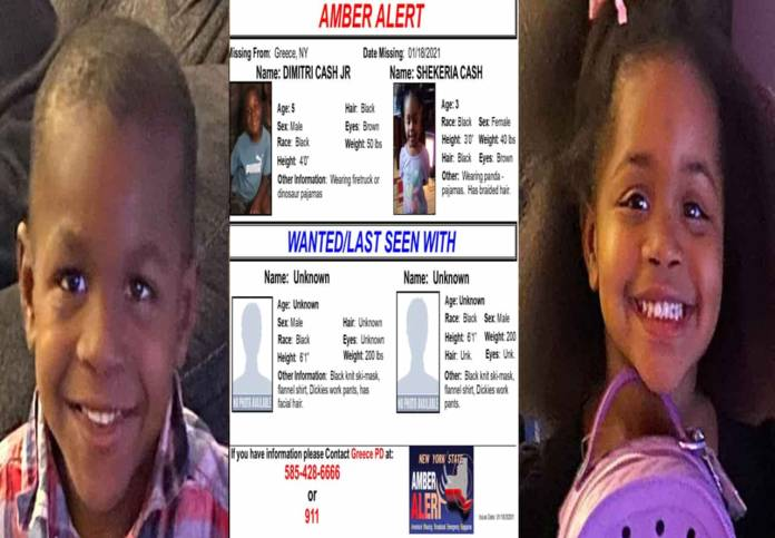 Amber Alert issued for 2 Kidnap siblings in NY