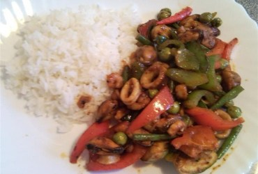 Thai Chili Paste Stir Fry