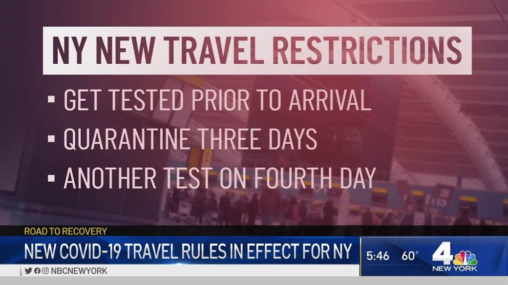 New York Travel Restrictions