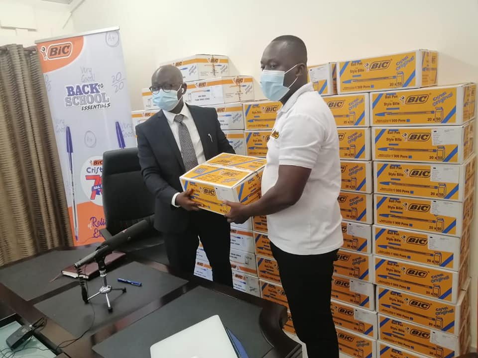 BIC Donates To GES