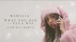 Mahalia ft Ella Mai - What You Did (Cam'ron Remix)