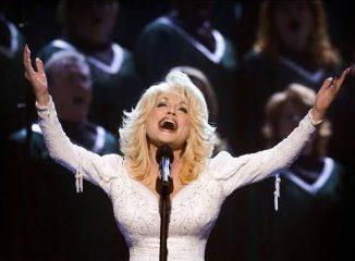 Dolly Parton hello God