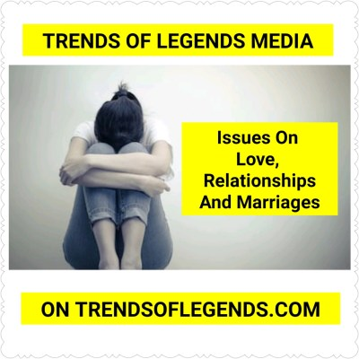 Issues On Love, Sex Life, Relationship, Marriage