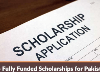 fully funded scholarships for pakistani students
