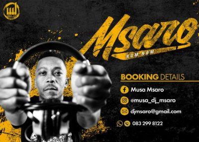 DJ Msaro Musical Exclusiv Vol. 25 Mix MP3 Download