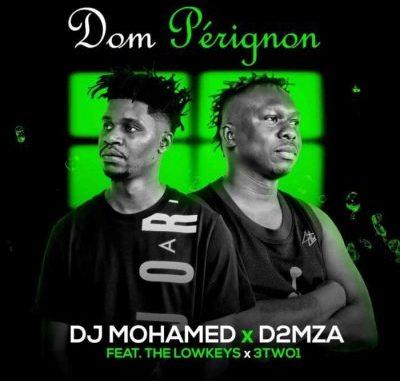 "The Lowkeys DJ Mohamed D2MZA Dom Pérignon: South African acts The Lowkeys, DJ Mohamed and D2MZA, feature 3TW01 on a new track titled "" Dom Pérignon"""