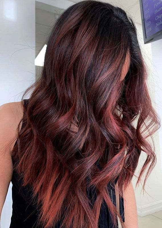 Bold Shades Of Red and Copper Hair Colors to Show Off in 2020