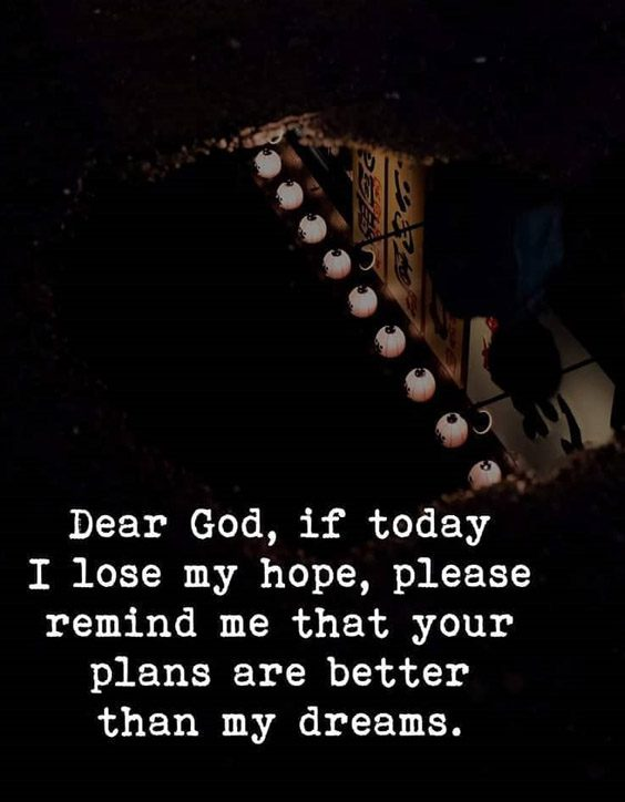 If today I lose My Hope - Best Dream Quotes