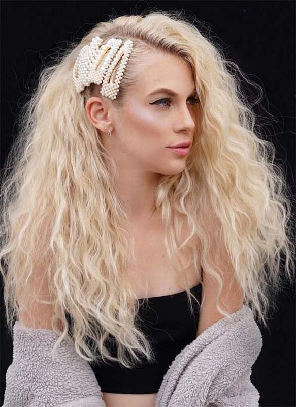 Obsessed Long Textured Curly Hairstyles for Women 2020