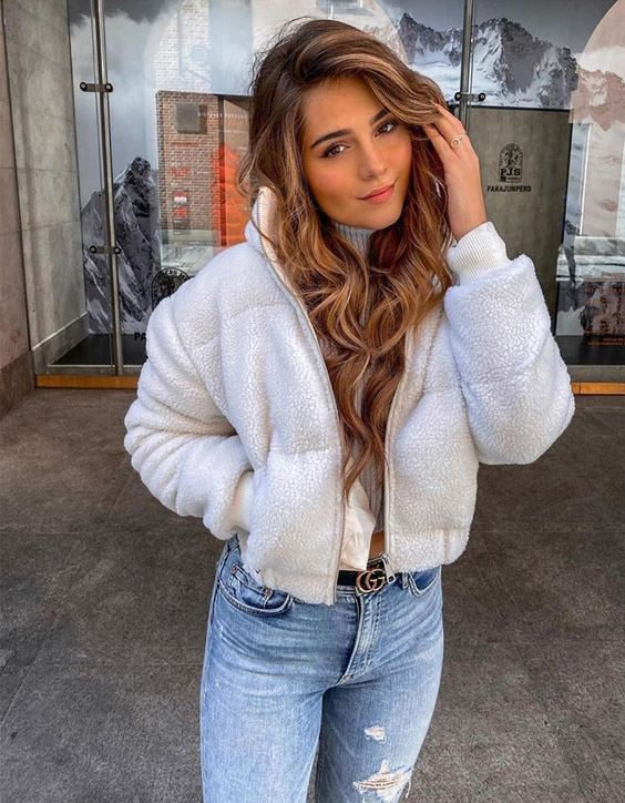 Stunning Brown Hair Color & Stylish Look for 2020