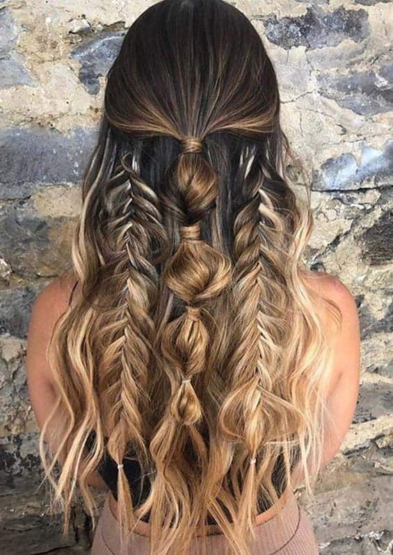 Gorgeous Braids and Wedding Hairstyles for Long Hair in 2020