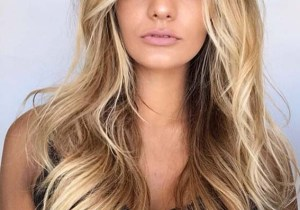 Honeycomb blonde balayage hair color trends in 2020