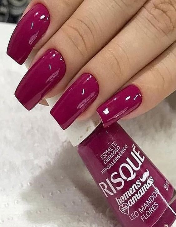 Charming Style of Red Nails You can wear Now