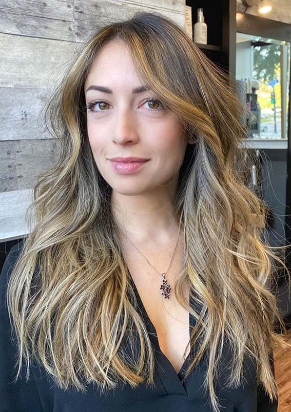Gorgeous Balayage Highlights for Long Locks in Year 2020