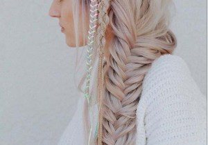 Latest Fishtail Braids for Long Hair styles to Show Off in 2020