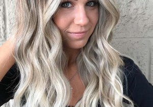 Long Blonde Hairstyles with Balayage Shades for Women 2020