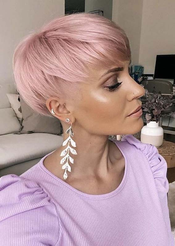 Lovely Pixie Haircuts for Women to Show Off in Year 2020
