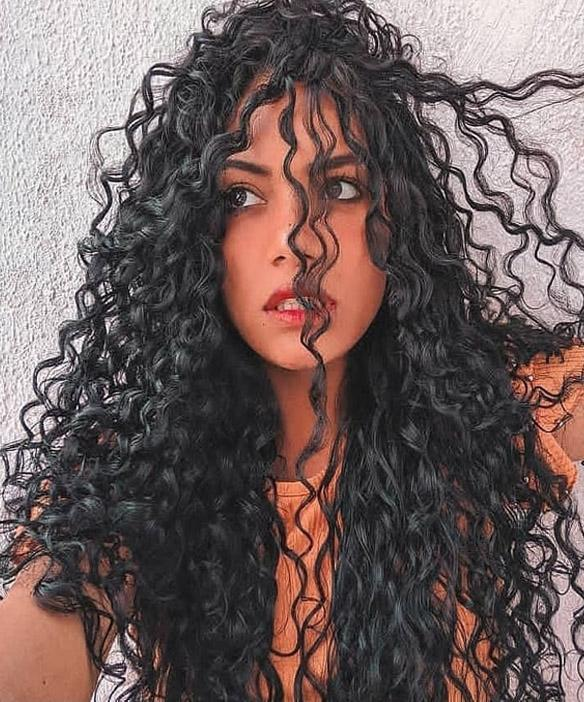 Good Looking Long Curly Hair Trends In 2020