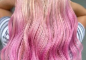 Latest Pink Ombre Hair Color Shades for Women in 2020