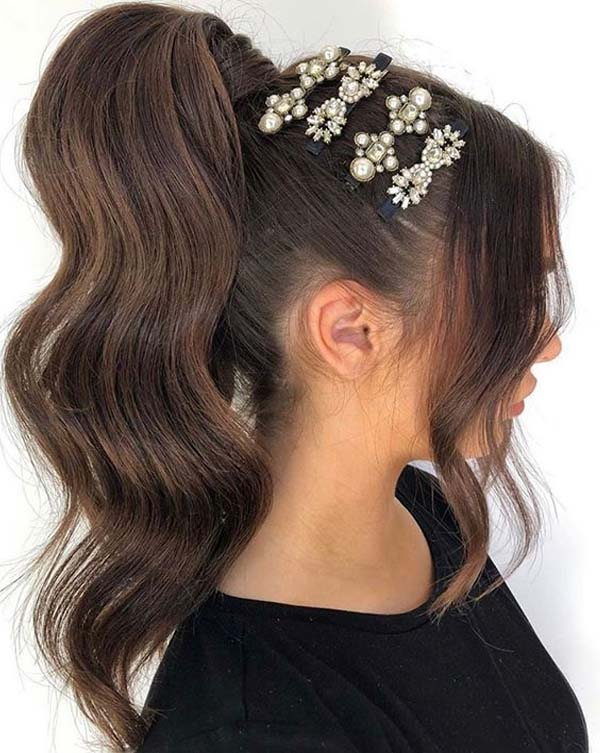 Beautiful High Ponytail Hairstyles You Must Try in 2020