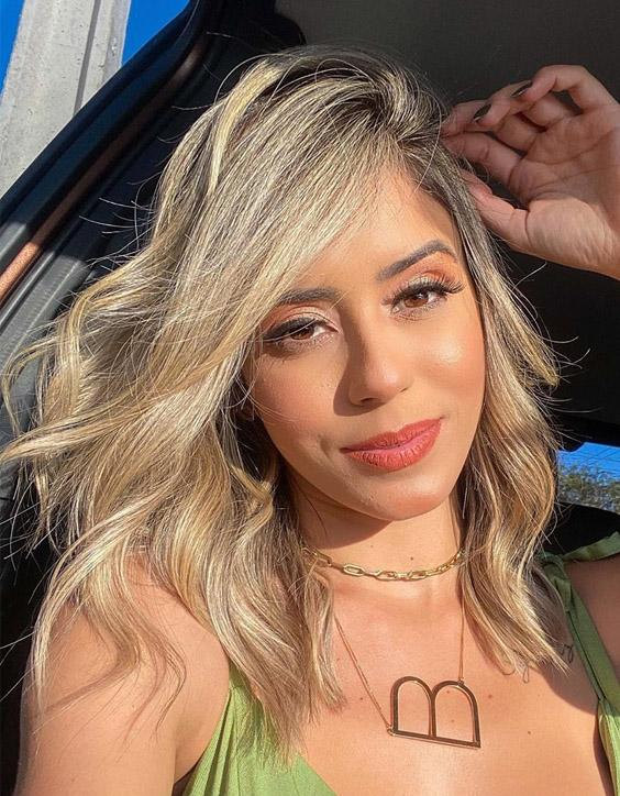 Pretty Style of Medium Blonde Hair Color for 2020