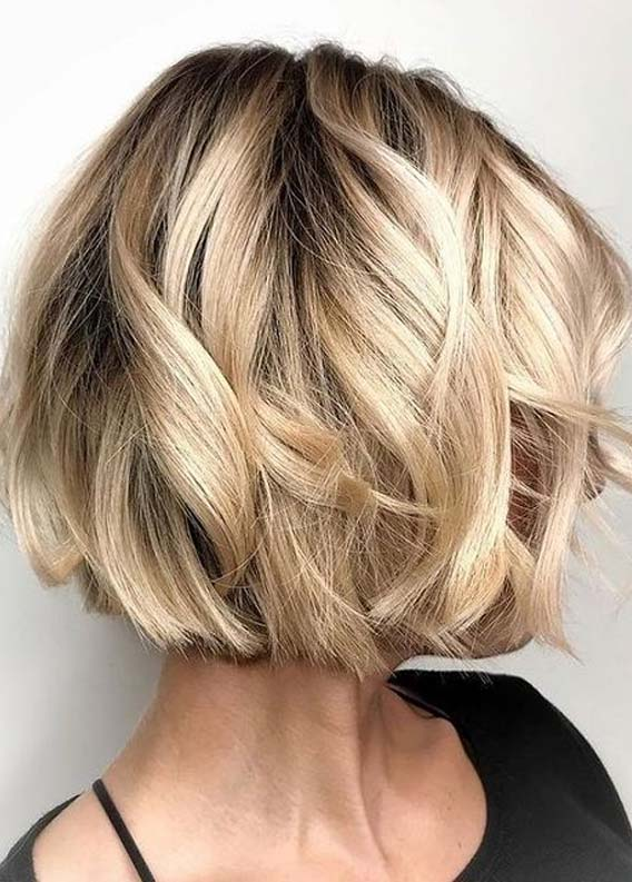 Beautiful Short Bob Haircuts for Women