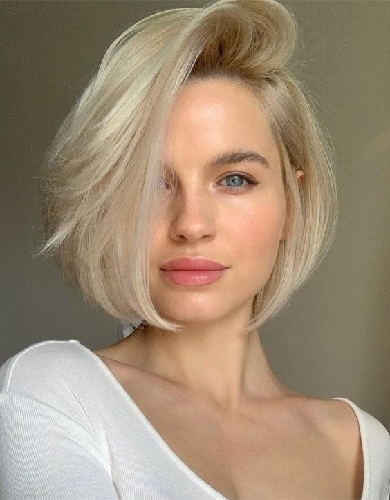 Charming Style of Bob Haircut for Short Hair