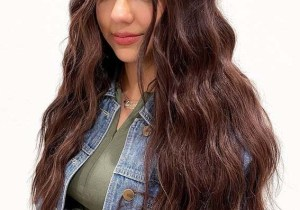 Long Brunette Hair Styles and Colors