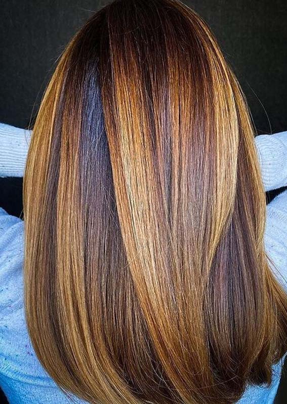 Fantastic Copper Balayage Hair Color Trends