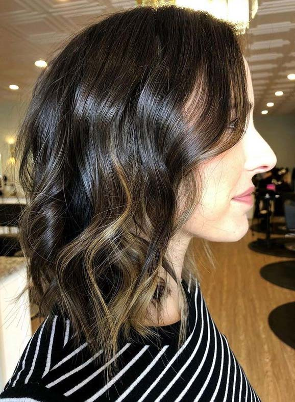 Fresh Brunette Hair Colors and Highlights