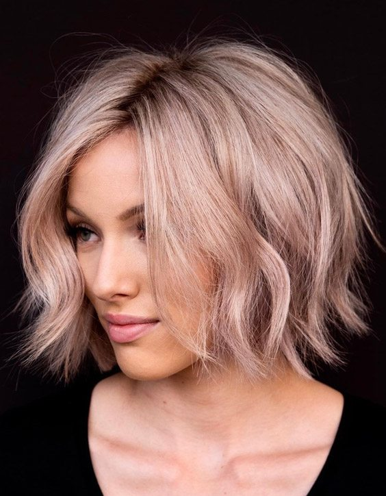 Soft Textured Lob Haircut Trends to Copy Now