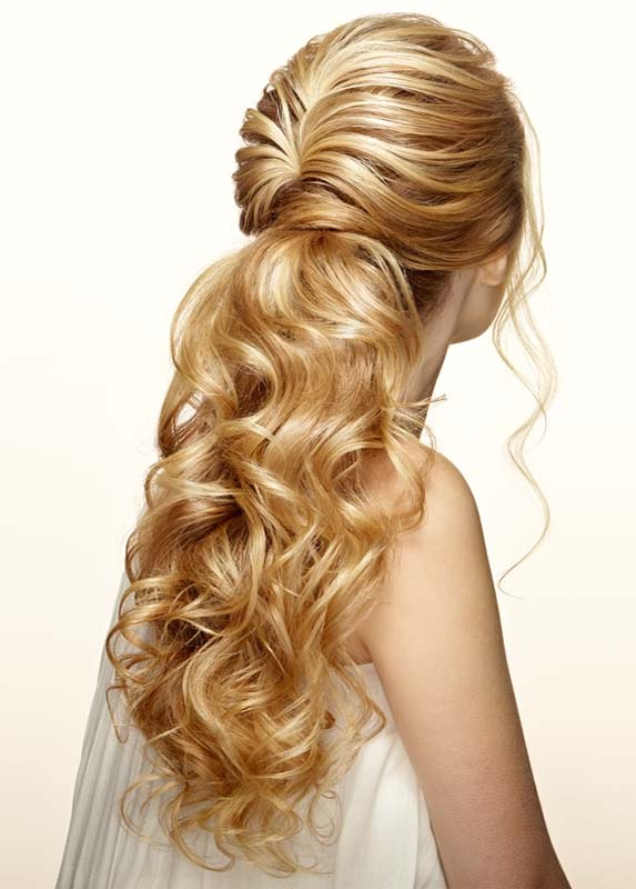 Half Updo Hairstyles for Curly Hair