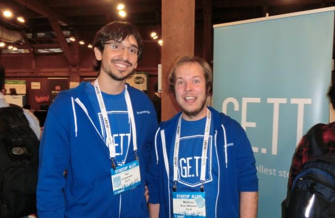 Ge.tt indtager TechCrunch Disrupt 2011