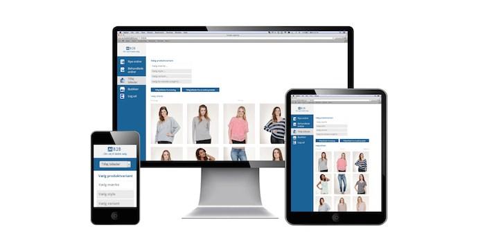 Modevirksomheder og grossister på én online platform