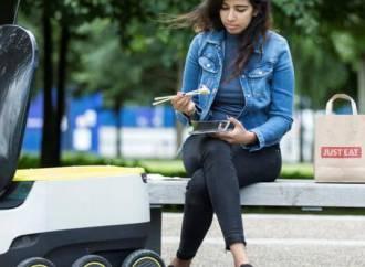 Skype-milliardærer og Just-Eat i nyt samarbejde: Få din pizza bragt med robotbud