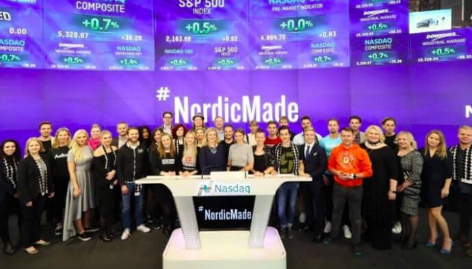 Nordiske startups ringede med klokken hos Nasdaq