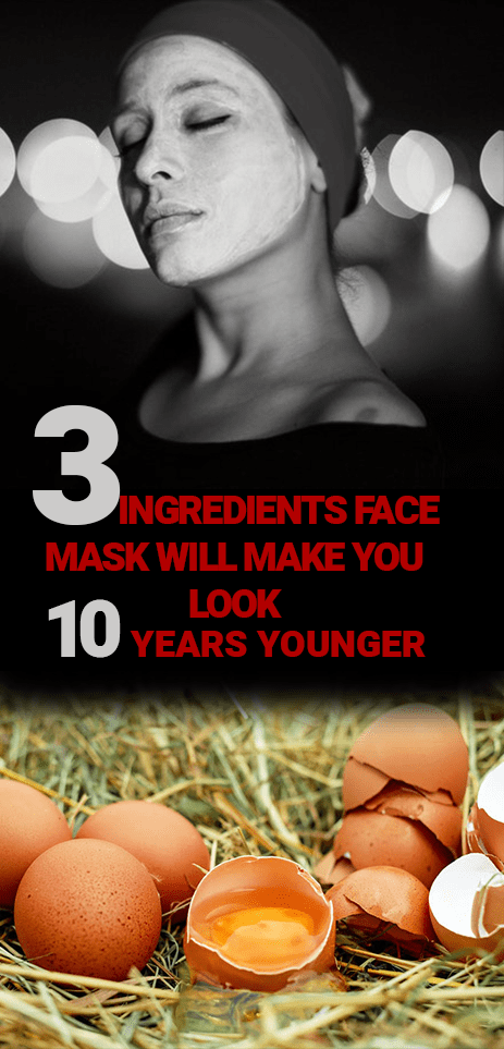 3 Ingredients Face Mask To Make You Look 10 Years Younger
