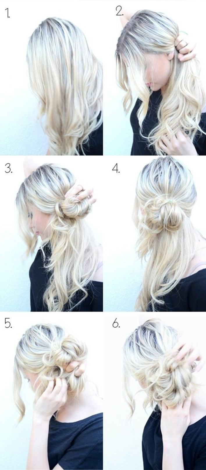 Side Bun Up-do