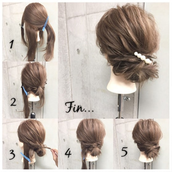 1-10 Updos tutorials on pinterest to Look Stunning