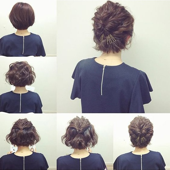 5-10 Updos tutorials on pinterest to Look Stunning
