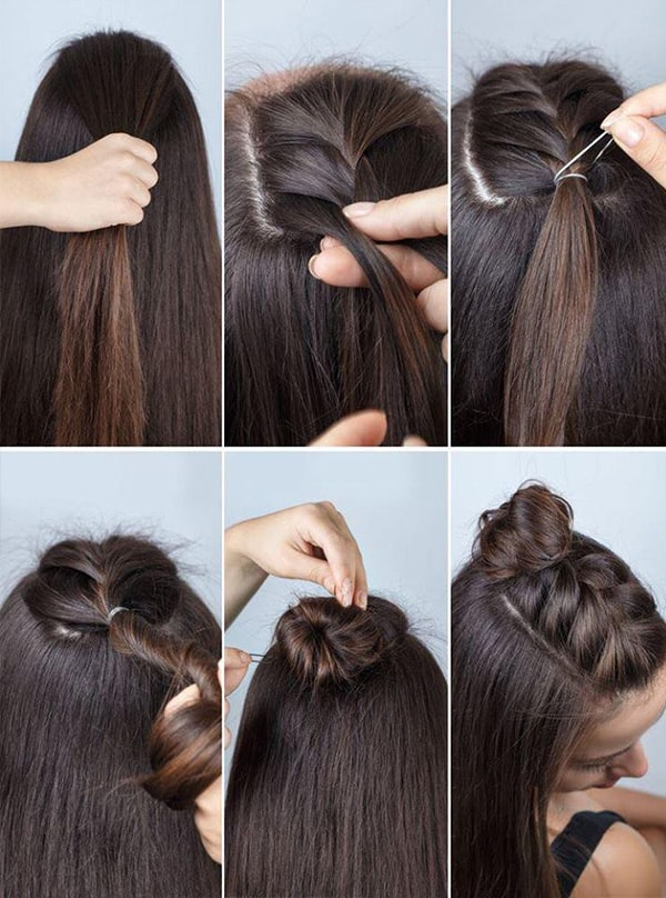 1 Super Easy Hair Tutorials For All Us Lazy Girls