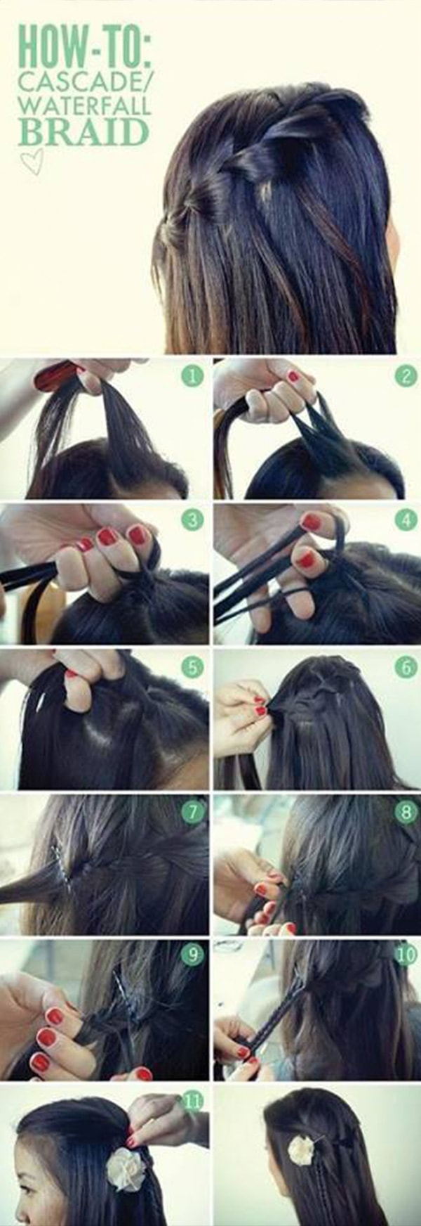 7 Super Easy Hair Tutorials For All Us Lazy Girls